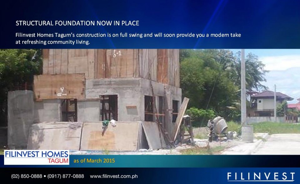 Filinvest Homes Tagum_construction_update_march_01