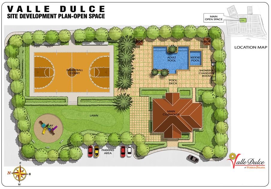 Valled Dulce Map